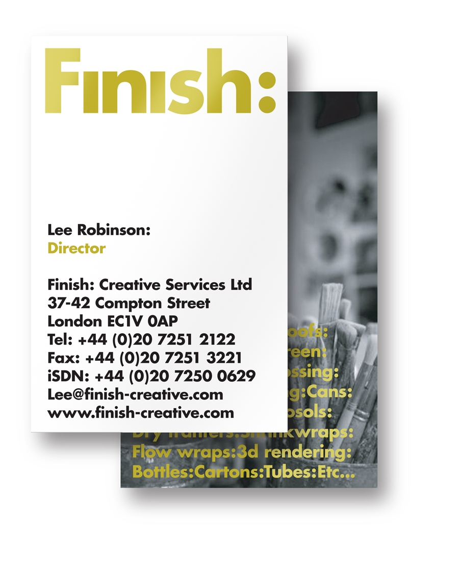 SVIDesign - Finish