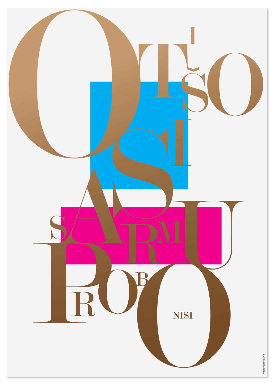 SVIDesign - Poster Series: Turbo Type